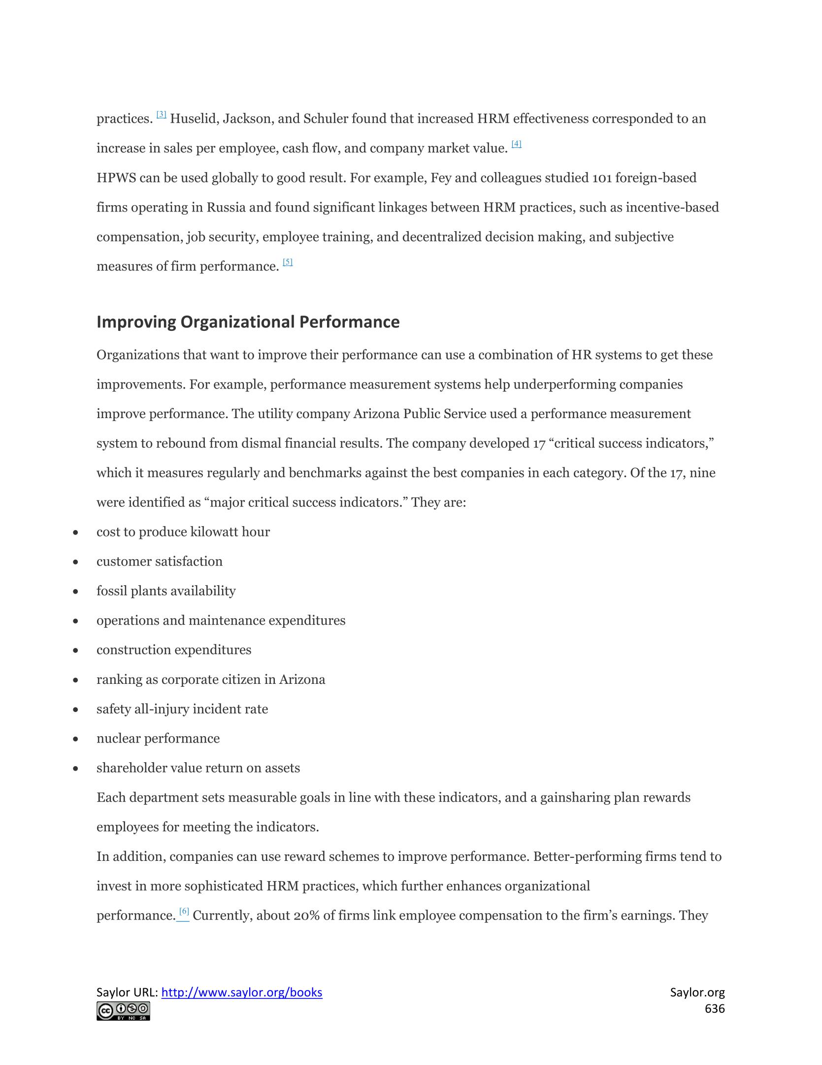 hrm practice and firm performance Understanding hrm-firm performance linkages: system strength can be seen to overarch the relationship between intended hrm practices to organizational performance.